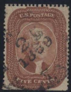 US Scott #27 Used, VF, APS