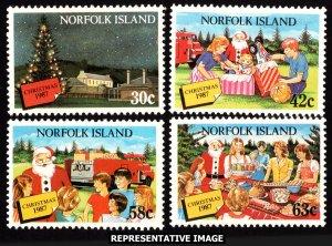 Norfolk Islands Scott 422-425 Mint never hinged.