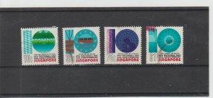 Singapore  Scott#  232-235  Used  (1975 National Day)