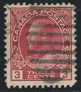 Canada #109 3c King George V