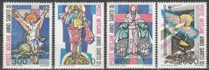 Vatican City #721-4 MNH F-VF CV $3.00  (V4325)