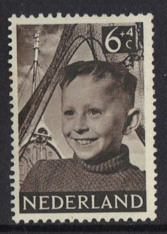 Netherlands 1951  MH  Child Welfare 6 ct   #