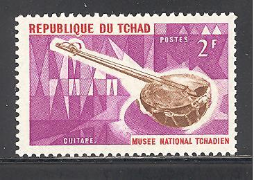 Chad  Sc # 117 mint never hinged  (DT)