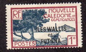 Wallis and Futuna 43 - Mint-H - Tree / Bay