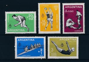 [44379] Argentina 1959 Sports Basketball Boxing Rowing Diving MLH