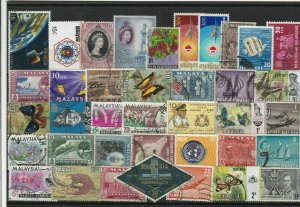 Malaya Asia Stamps Ref 15359