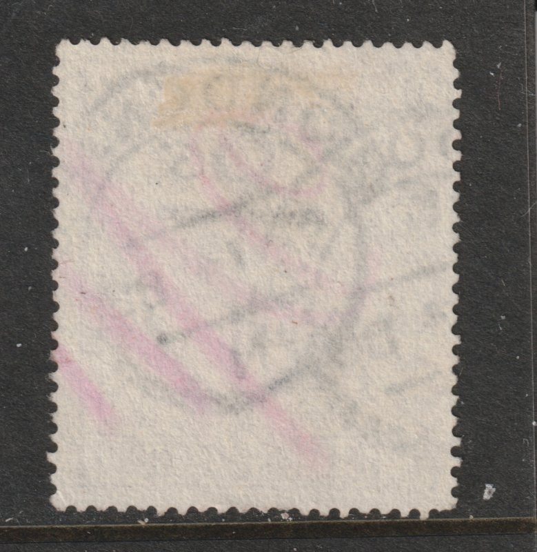 Great Britain a used 2/6 QV from 1883