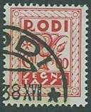Rhodes SC# J7 Postage Due 60c Used