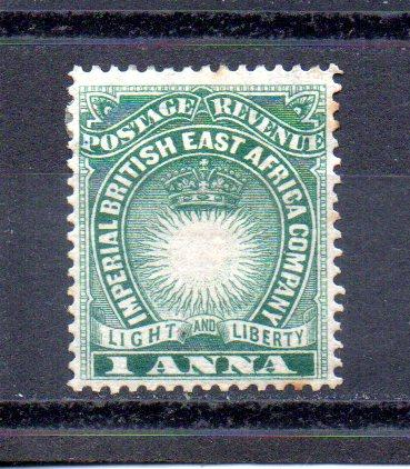 British East Africa 15 MH (B)