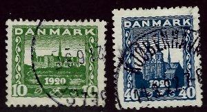 Denmark #159-160 Used VF...Grab a Deal!