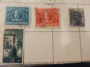 Italy used F-VF group of 4