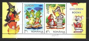 Romania. 2010. 6427-28. Fairy tales, europe-sept. MNH.