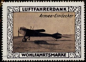 Germany Armee Eindecker WWI Air Force Memorial Luftfahrerdank Flight MNH G102829