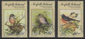 NORFOLK ISLAND SG505/7 1990 BIRDPEX 1990 FINE USED
