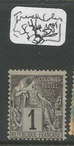 French Colonies SC 46 MOG (3crp)
