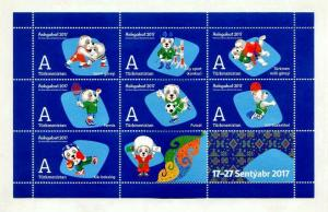 Exclusive Collectible Olympic Postage Stamps of Turkmenistan  V Asian Games