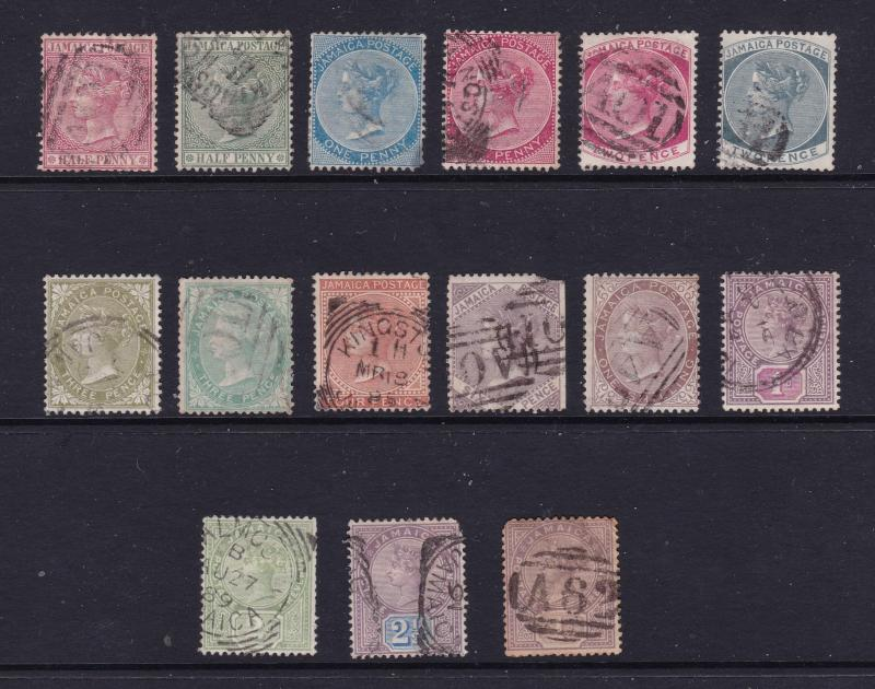 Jamaica small lot of used QV
