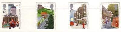Great Britain Sc 1111-4 1985 Royal Mail 350 stamps mint NH
