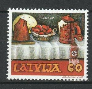 Latvia 2005 CEPT Europa MNH Stamp