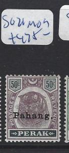 MALAYA  PAHANG  (P1412B) TIGER 50C  SG 21  MOG
