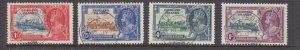 FALKLAND ISLANDS, 1935 Silver Jubilee set of 4, used, SOUTH GEORGIA