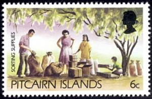 Pitcairn Islands # 166 mnh ~ 6¢ Sorting Supplies
