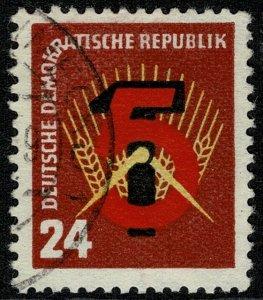 GERMANY DDR 1951 5 YEAR PLAN USED (VFU) P.13.5x12.5 SGE50 SUPERB