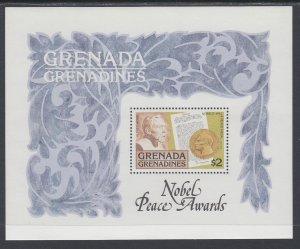 Grenada Grenadines 262 Nobel Prize Souvenir Sheet MNH VF