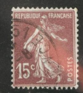 France Scott 165 used 1903-1938 Sower type