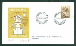 Denmark. FDC Cachet 1965. Preservation. Windmill. 40 Ore. Engraver: Slania