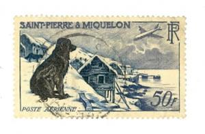Saint Pierre & Miquelon Scott C21 Used (Catalog Value $24.00)