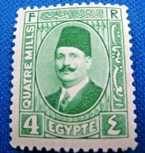 EGYPT  1927  -  SCOTT # 132a  -   MLH       (X9)