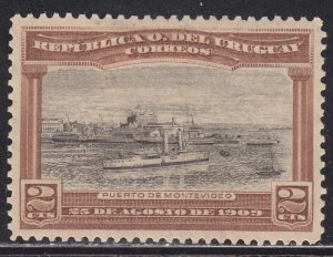Uruguay 177 View of the Port of Montevideo 1909