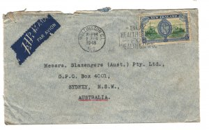 New Zealand 1948 Commercial Cover to Australia