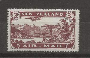 New Zealand SC# C1    Mint  VF  NH