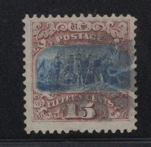 US Stamp Scott #118 15c Pictorial JUMBO USED SCV $800