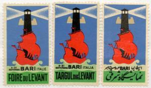 (I.B) Italy Cinderella : Levant Exhibition (Bari)