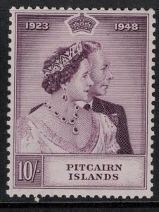 Pitcairn Islands 1949 SC 12 Mint SVC 50.00 Stamp