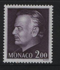 MONACO, 944 MNH, 1974-78 Prince Rainier