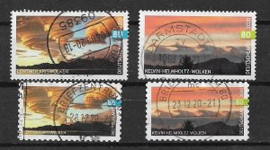 Germany used 2020 SET complete  Yt 3307 3308 3309 3310