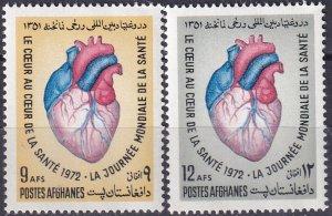 Afghanistan #855-6 MNH CV $2.65 (Z9632)