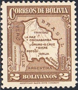 Bolivia  #232  MNH