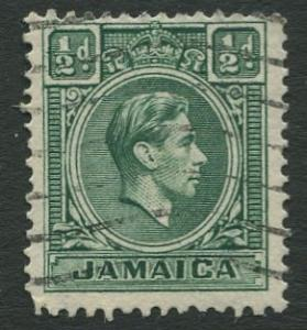 Jamaica -Scott 116 - KGVI Definitive -1938 - Used - Single 1/2p Stamp