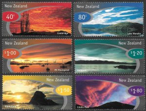 New Zealand # 1526 - 31 Mint Never Hinged