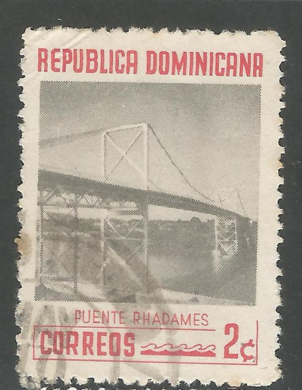DOMINICAN REPUBLIC 520 VFU BRIDGE L861-3