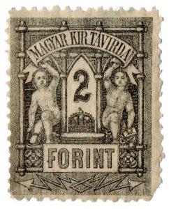 (I.B) Hungary Telegraphs : Magyar Kir Tavirda 2Ft