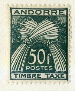 FRENCH ANDORRA J40 MH SCV $47.50 BIN $22.50 NUMERICAL