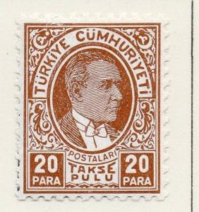Turkey 1936 Early Issue Mint Hinged 20p. 185400