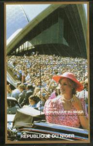 Niger MNH S/S 13411 Lady Diana In Sundress 1997