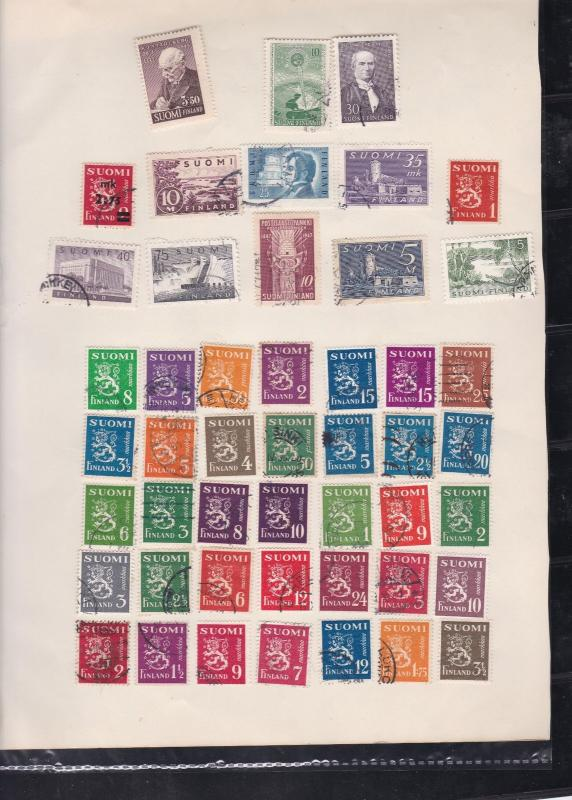 finland stamps page ref 17977